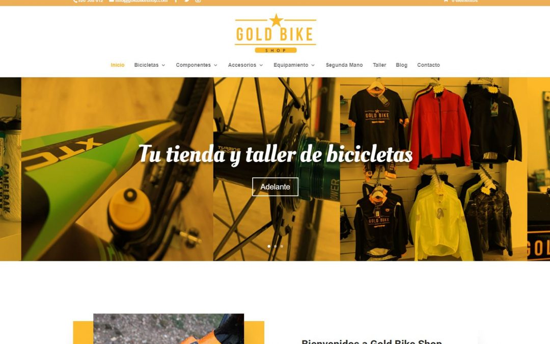 Gold Bike Shop