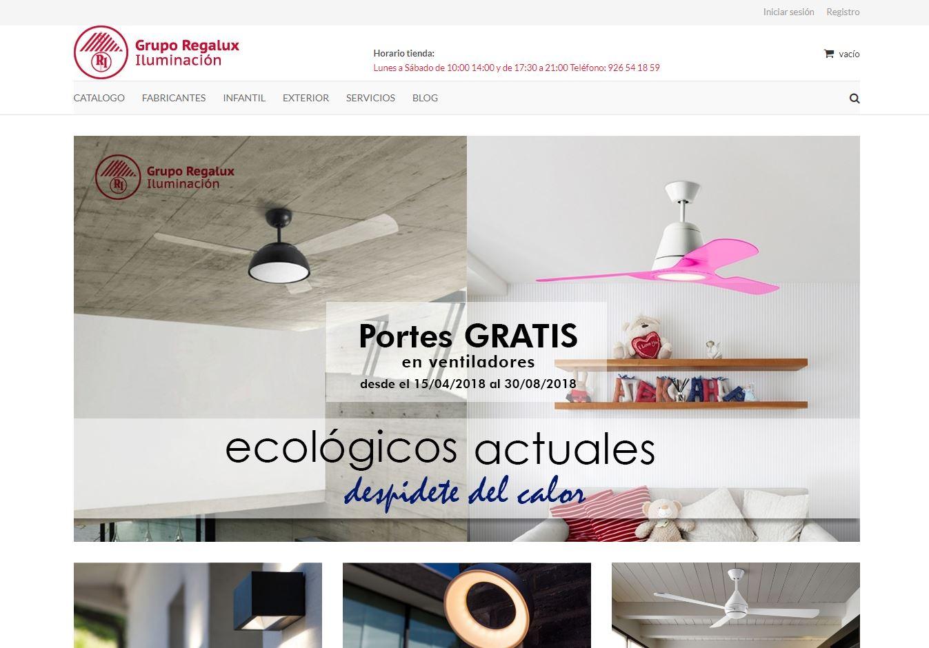tienda online regalux iluminación