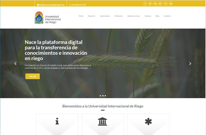Universidad Internacional de Riego