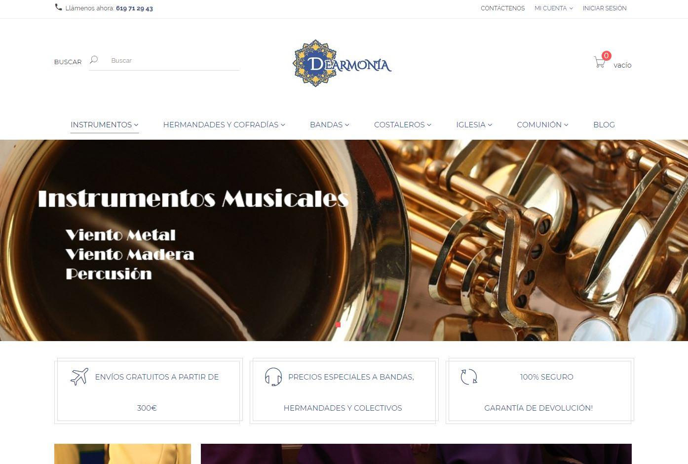 Dearmonia tienda online